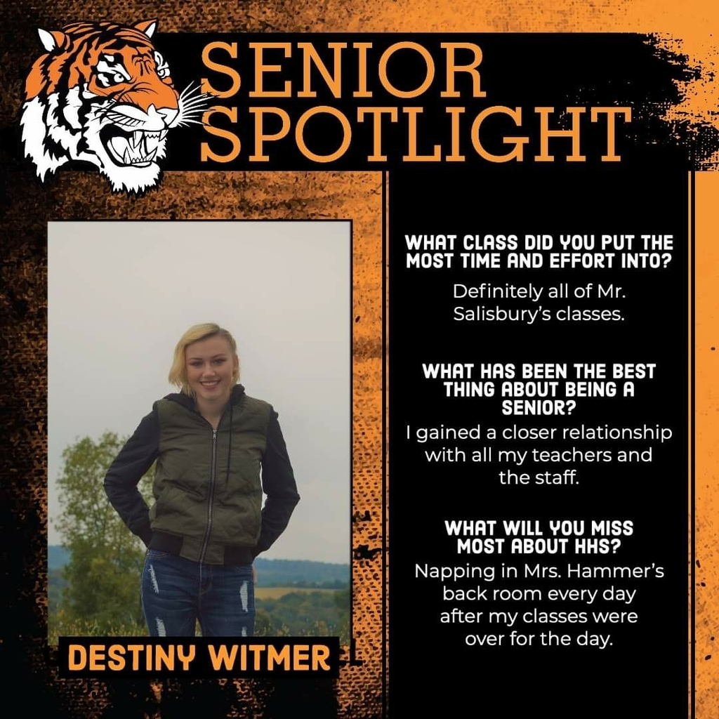 Senior Spotlight - Destiny Witmer