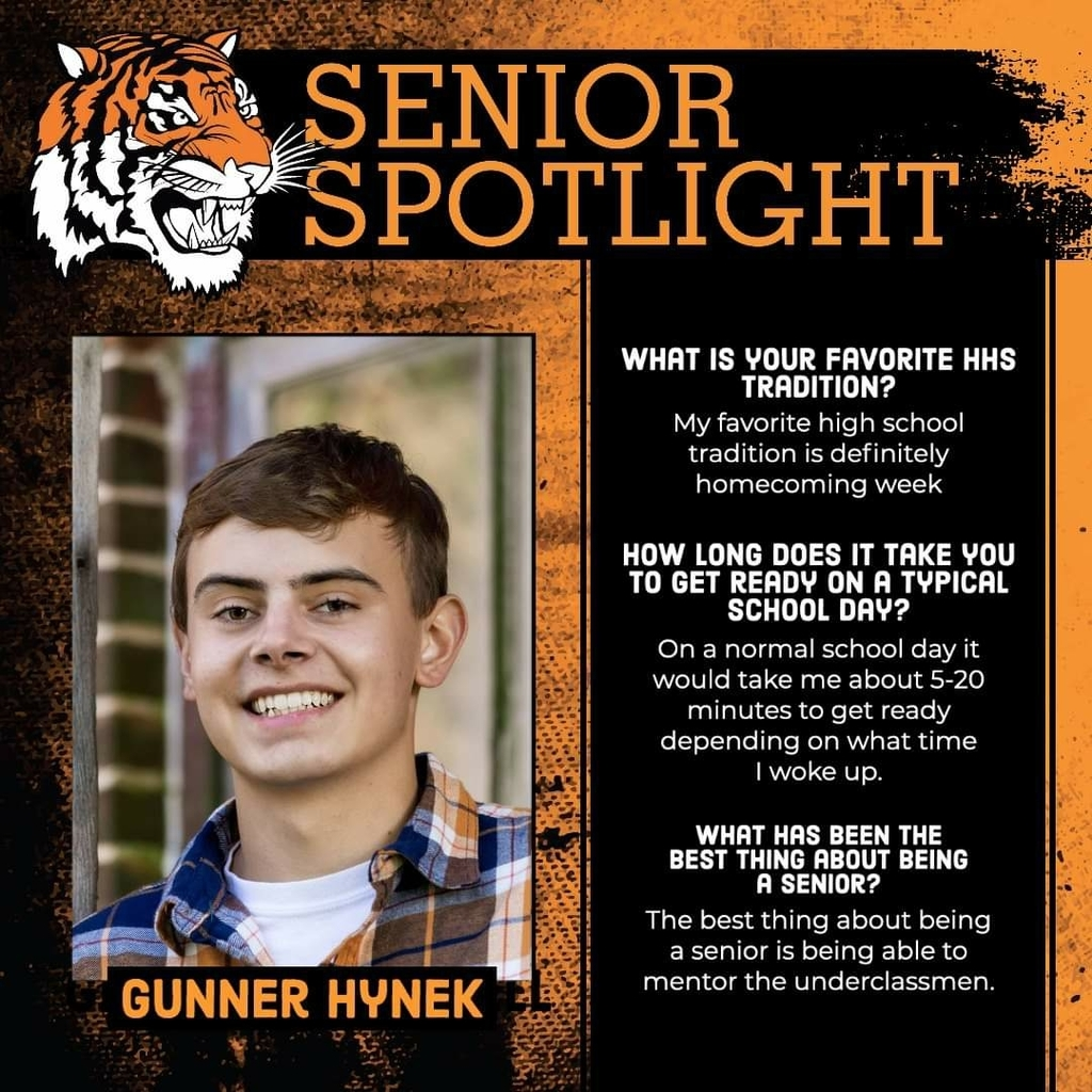 Senior Spotlight - Gunner Hynek