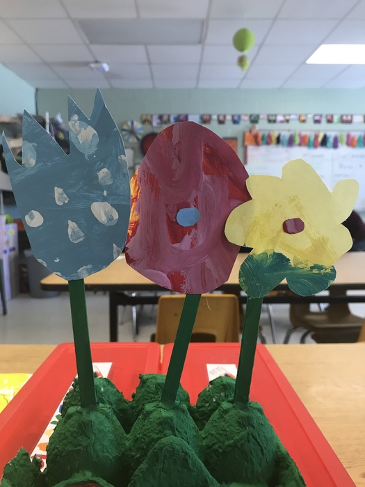 1st Grade Earth Day Art Project